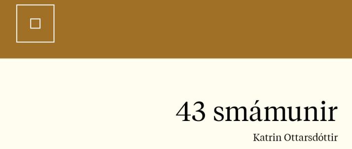 43 smámunir
